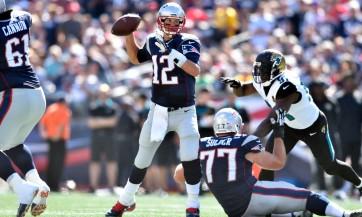 USP NFL: JACKSONVILLE JAGUARS AT NEW ENGLAND PATRI S FBN USA MA
